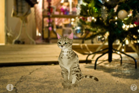 Screenshot Savannah Petting cat 3D REAL