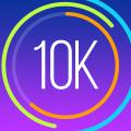 走破 10KM!:Red Rock Apps社製トレーニング計画・GPS&ランニング情報アプリ
