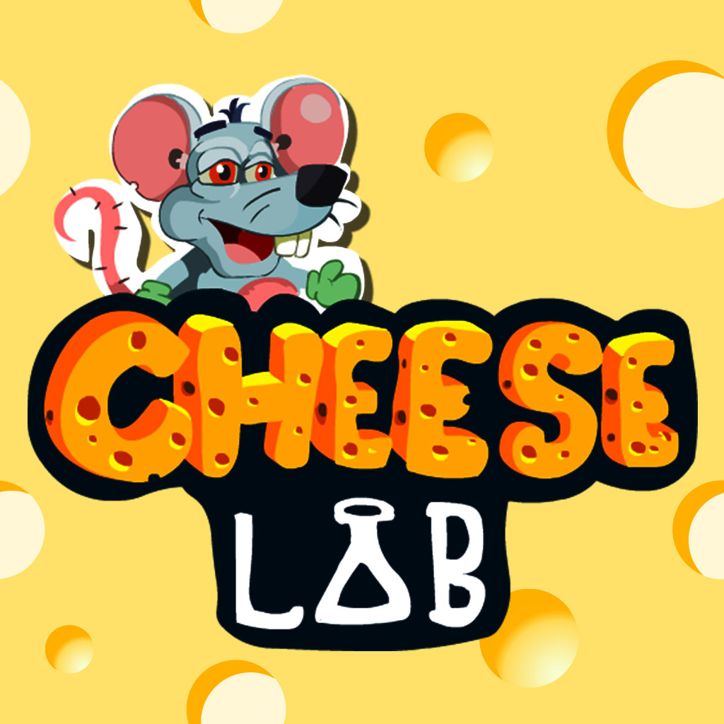 cheese lab A mouse has one goal: get the cheese but you need the bouncy steps and jet packs to go high enough go left or right and be careful no to fall down.